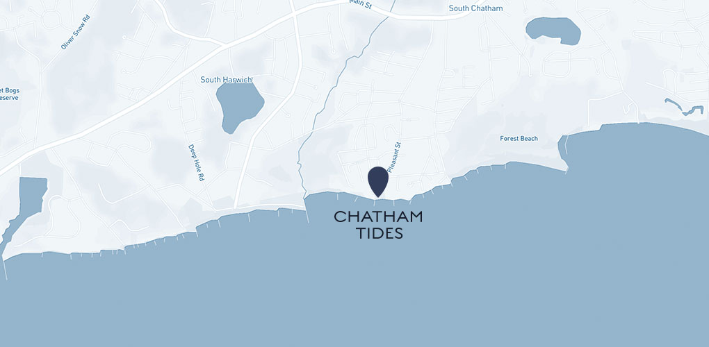 Cape Cod Beachfront Hotels Chatham Tides Location - Cape cod location us map